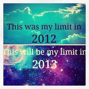 new year, 2013, sky's the limit, happy new year