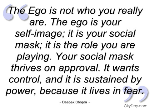 "beowulfs ego identity and authentic self The authentic self ""give up all bad qualities in you, banish the ego and develop the spirit of surrender you will then experience bliss"" — sri sathya sai baba."