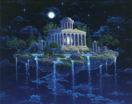 """Moontemple"" by Gilbert Williams"