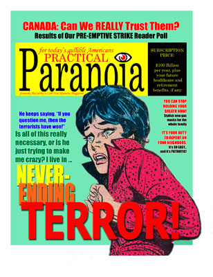 Practical Paranoia, by Mike Elko, site credit: www.blog.lib.umn.edu/peza0001/arts1001wednesdays/2008/11/millions_of_innocent_accidents