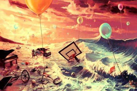 site credit: http://aquasixio.deviantart.com/art/Don-t-trash-your-dreams-323512656