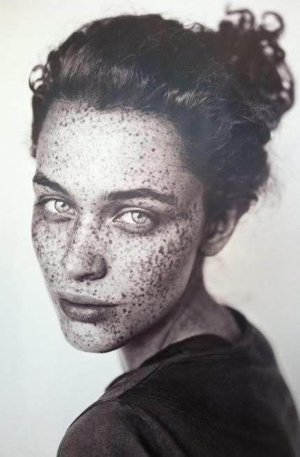site credit: http://journeytoixtlan.tumblr.com/post/17125919365, wabi wabi beauty, freckles beautiful