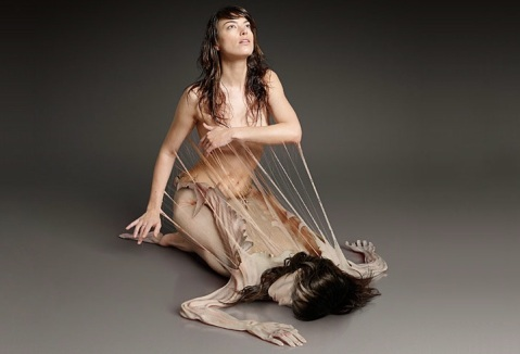 Taylor James, human metamorphosis, site credit: http://www.mymodernmet.com/profiles/blogs/human-metamorphosis-15-pics
