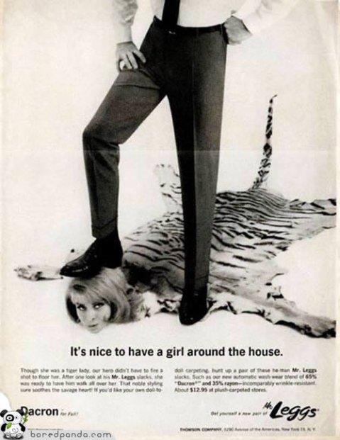 anti woman vintage