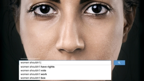 strong women, feminist art, http://www.adweek.com/adfreak/powerful-ads-use-real-google-searches-show-scope-sexism-worldwide-153235
