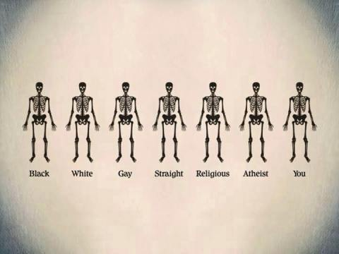 unity, racism, we're all the same,