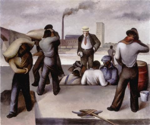 joe jones, working class art