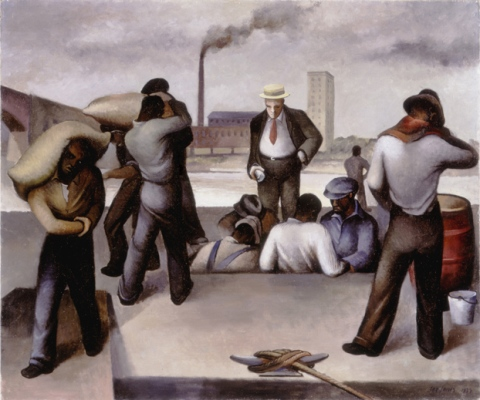 joe jones, working class art