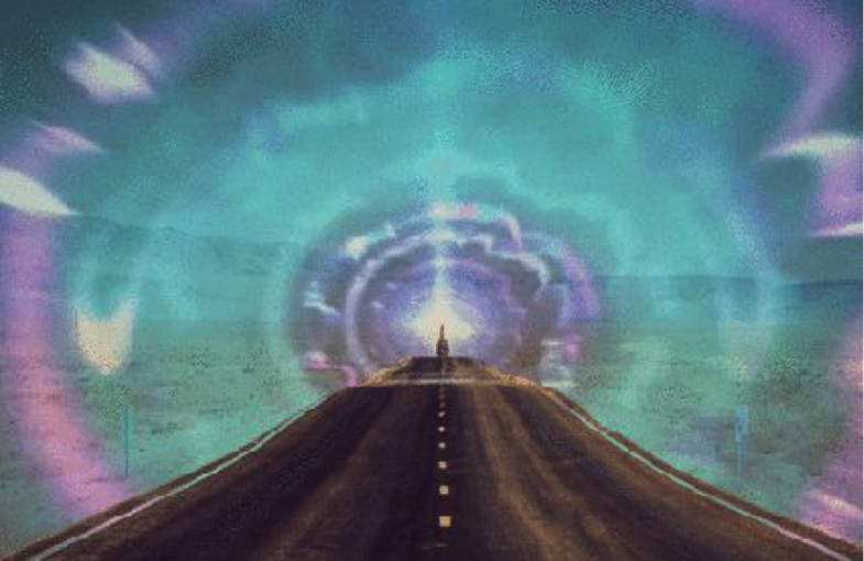 the road within, third eye vision art