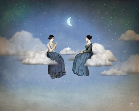 christian schloe, two selves art