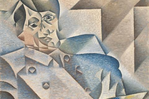 Juan-Gris-Portrait-of-Pablo-Picasso